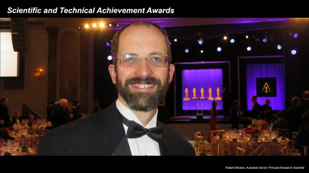 Oscar-Preisträger Robert Bridson
