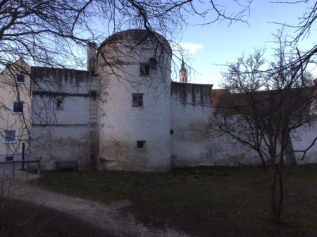Der Heißenturm in Schrobenhausen.
