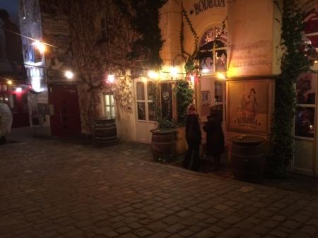 Die Bodega vinos y tapas in Regensburg.
