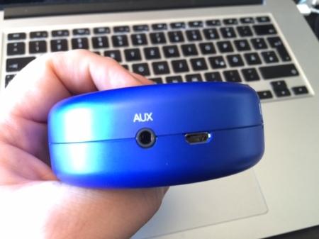Aux und USB-Anschlüsse