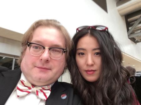 Auf der IHM 2015 traf ich die Künstlerin Younee.