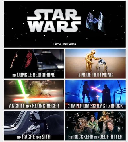 Endlich ist Star Wars bei iTunes und Co auch eingezogen.