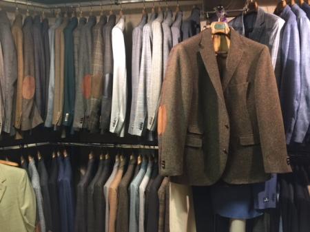 Harris Tweed-Jacket in Immenstadt beim Herrenausstatter Felbinger.