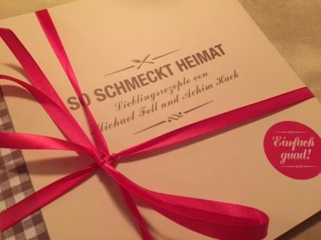 """Das Kochbuch """"So schmeckt Heimat"""" ist bei den Egerner Höfen direkt zu beziehen."""