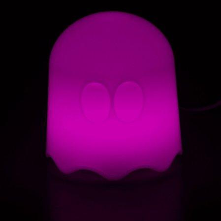 Pac Man Lampe im Einsatz