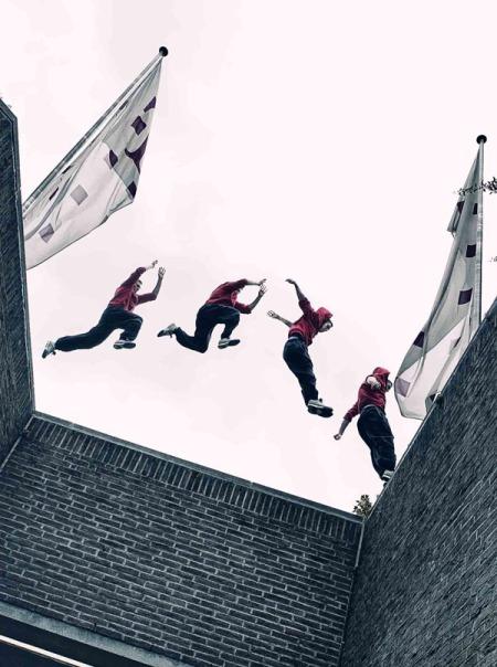 Die Top-Athleten von Blackout Germany zählen zu Europas führenden Künstlern in den Trendsportarten Parkour und Freerunning.