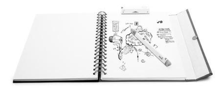 Sketchnote mit dem Equil Smartpen 2