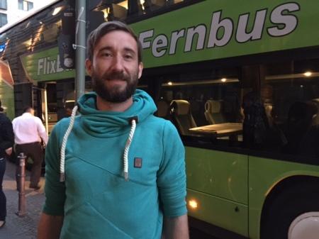 Daniel Krauss, den Gründer von FlixBus