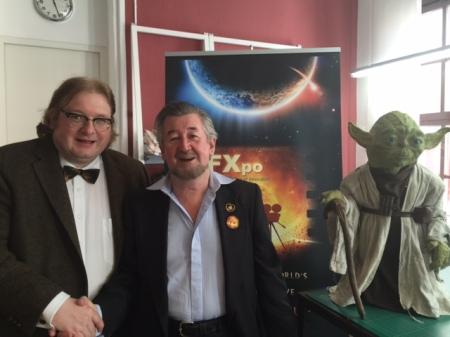 Für das Munich ACM Siggraph Chapter organisierte ich eine Veranstaltung mit dem Yoda-Guy Nick Maley in Erlangen.