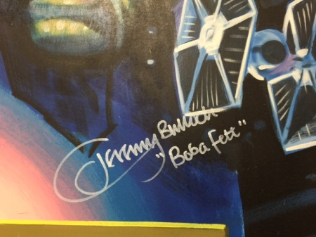 Jeremy Bulloch ist Boba Fett
