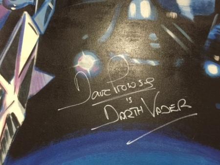 David Prowse ist Darth Vader