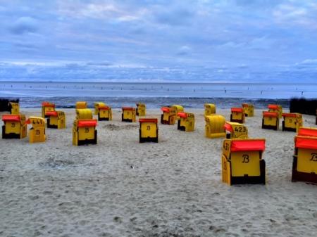 Urlaub an der Nordsee.