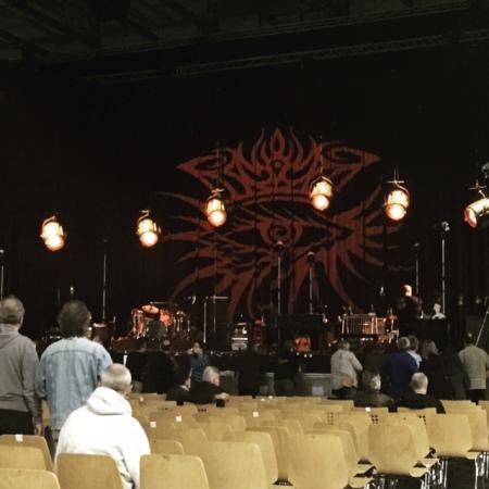 Dylans Bühne in Bamberg.