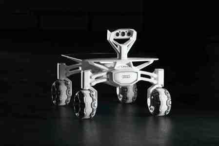 Audi lunar quattro mit den Ringen. Foto: Audi