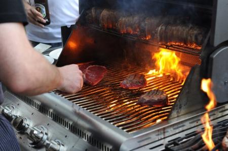 Königsdisziplin Steak.