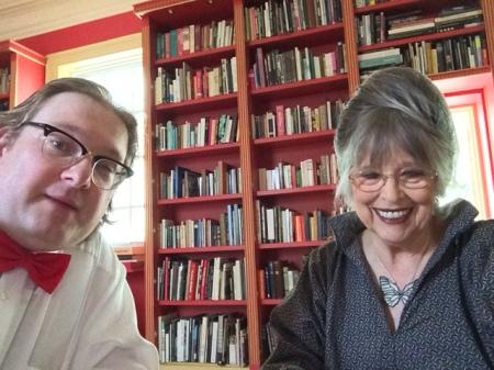 Hintergrundgespräch oder Interview - hier mit Christiane Kubrick.