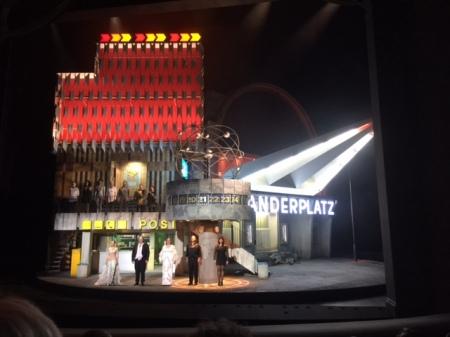 Die Inszenierung vom Siegfried hat mir nicht gefallen.