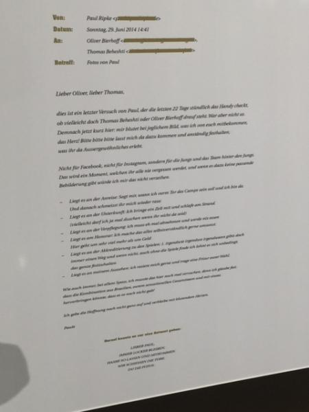 Bettel-E-Mail von Ripke.
