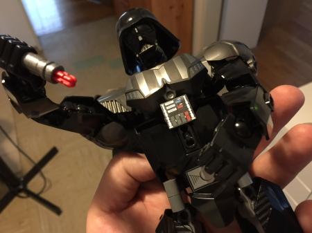 Lord Vader in 160 Teile.