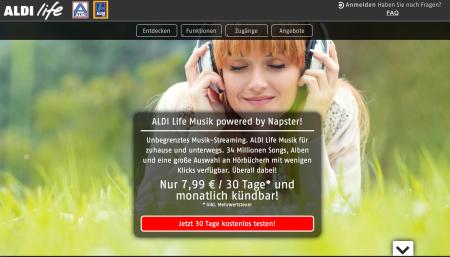 Aldi kommt mit einem eigenen Streaming Dienst und tritt gegen die internationale Herausforderung an.