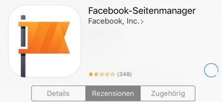 Die Lösung: App löschen und neu laden.
