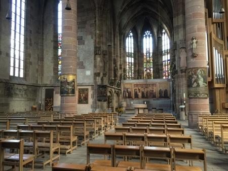 Die Frauenkirche in Nürnberg.