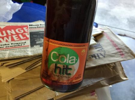 Cola hit - war die DDR-Variante von Coca Cola.