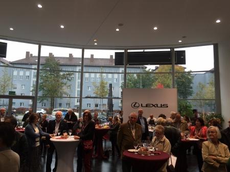 Kundenevent im Lexus Forum München.