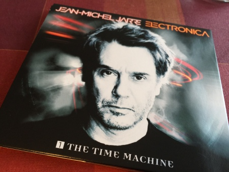Von mir lange erwartet: Das neue Album von Jean Michel Jarre: Electronica 1: the Time Machine