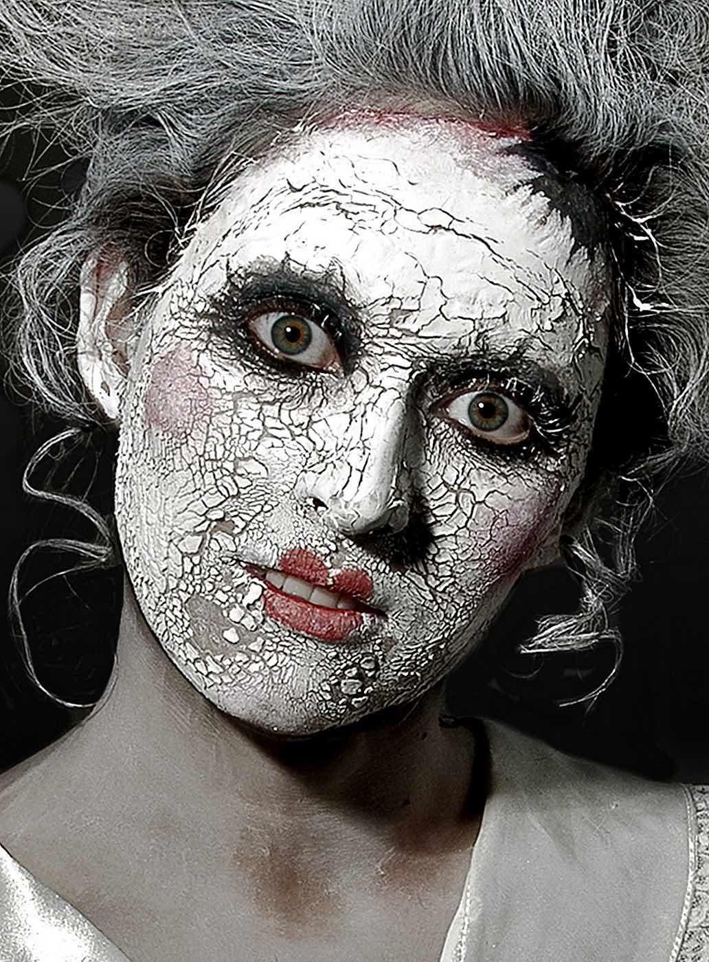 High Fashion Clown Makeup