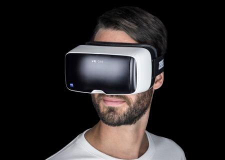 Die VR-Brille VR One von Zeiss.