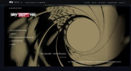 23 Bond Filme lassen sich bei Sky Deutschland anschauen.