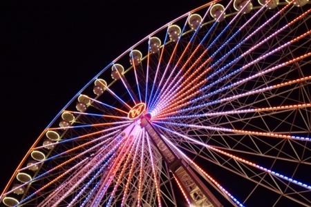 Das Riesenrad in Essen.