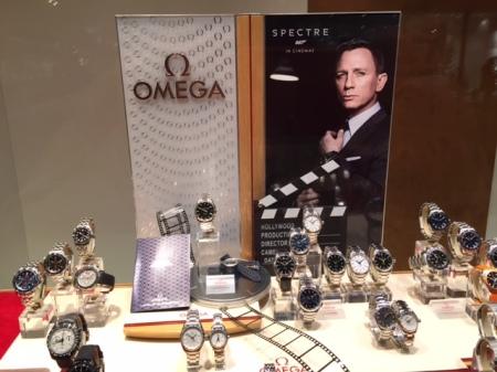 Vielleicht eine Omega Uhr wie James Bond zu Weihnachten?