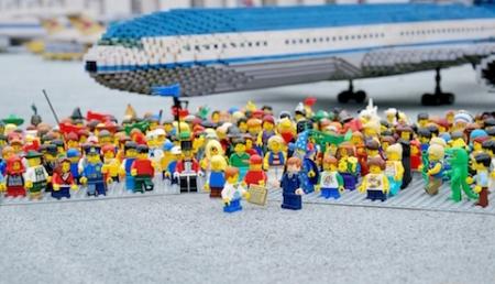 Protestnote wird überreicht. Foto: Legoland