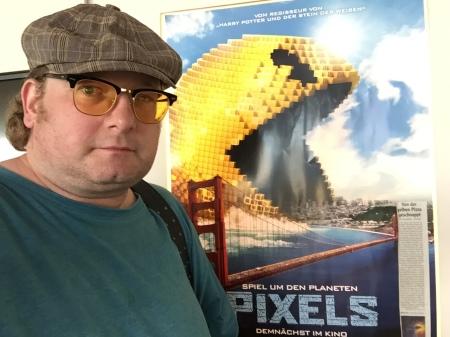 Pixels war zwar kein toller Film, hatte aber ein paar gute Retro-Lacher.