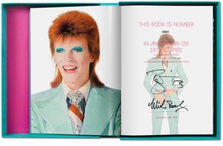 Hier die Nummer 1, ich habe die Nummer 61 des Buches The Rise of David Bowie 1972-1973 von Mick Rock.
