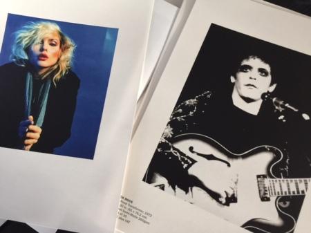 Blondie und Lou Reed - fotografiert von Mick Rock.