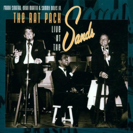 Aufnahme der Coolness. Rat Pack at the Sands
