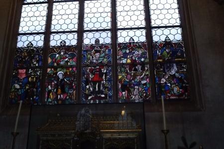 Das Fenster von Max Lacher.