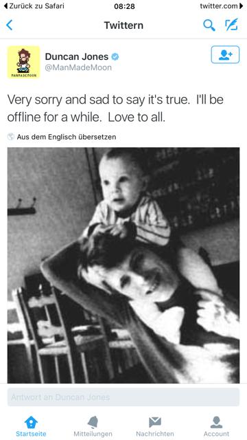 Viw Twitter bestätigte sein Sohn den Tod des Vaters.
