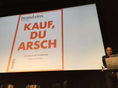 Werbung ist nicht Content Marketing - so Klaus Eck.