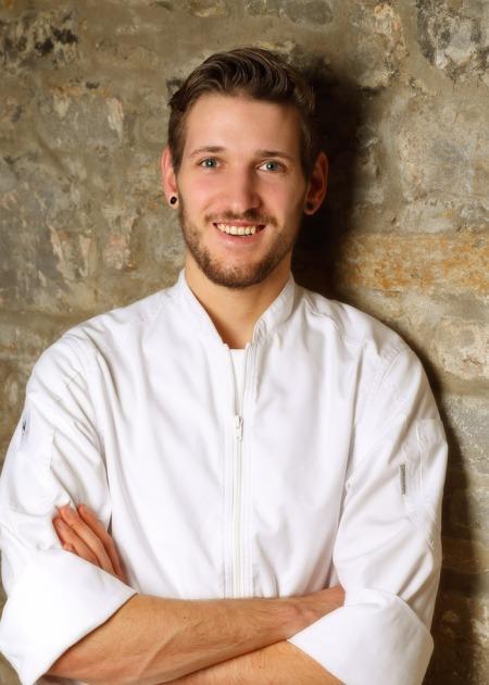 Stefan Szabo ist neuer Küchenchef in der Goldenen Traube in Coburg.