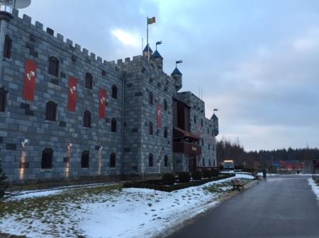 Die Königsburg im Legoland Deutschland.