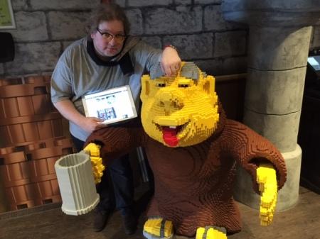 Mein Kumpel und ich waren im Legoland Deutschland bei Beer and Dine.