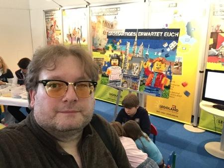 Beim Legoland musste ich einfach spielen.