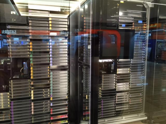 nespresso kapseln kaufen am automat in den riem arcaden redaktion42 39 s weblog. Black Bedroom Furniture Sets. Home Design Ideas