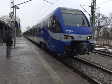 Auf der Zugstrecke Holzkirchen Rosenheim kam es zu dem schrecklichen Unglück am 8. Februar 2016.