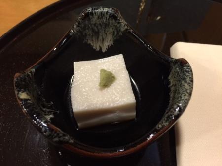 Amuse Bouche mit Sesam Tofu