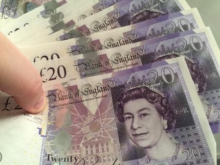 Die Dame auf den Geldscheinen wird heute 90. Jahre alt.
